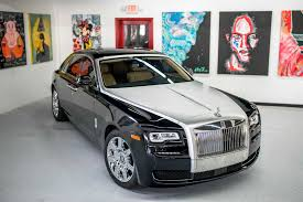 black rolls royce rolls royce ghost series ii black white miami exotics exotic