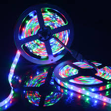 Led Strip Light Power Consumption by Sunix 10m 3528 600leds Rgb Flexible Led Strip Light 24 Key Ir