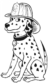 firefighter and dog coloring pages 30743 bestofcoloring com