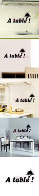 decor mural cuisine stickers cuisine texte a table vinyl wall decal sticker mural