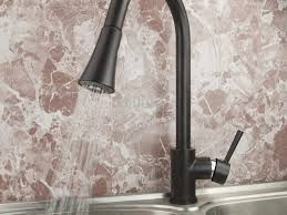 Leaking Single Handle Kitchen Faucet by Bathroom Faucets Stunning Delta Pull Out Hose Assembly The Home