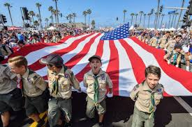 for parade july 4th more than 500 000 crowd huntington for parade see