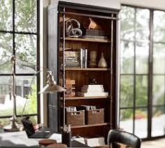 Wooden Bookshelf Pictures by Bookcases U0026 Shelves Pottery Barn
