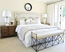 tj maxx bedding bedroom contemporary with built in headboard queen