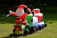 Outdoor Christmas Decor Train by Outdoor Train Ebay