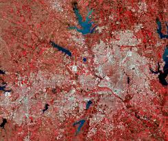 Map Of Dallas Fort Worth Dallas Texas Usa Earthshots Satellite Images Of Environmental