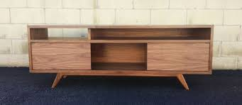 mid century modern tv cabinet the porkchop a mid century modern tv console tv stand credenza