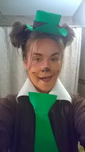 Bear Halloween Makeup by Last Minute Yogi Bear Costume Tiny Kelsie