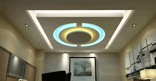 modern living room false ceiling designs round mirror with white