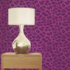 Zebra Bedroom Wallpaper Luxury Leopard Print Wallpaper 10m Room Decor All Colours Tiger