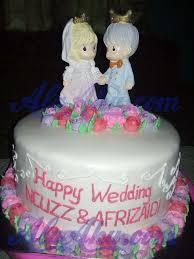 wedding cake sederhana wedding cake kue pengantin home made daerah cibinong bogor ala aku