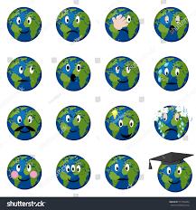 africa map emoji planet earth emoticons emoji smiley set stock vector 517754284