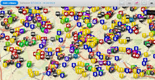 Charlotte Zip Code Map by Cmpd Offers More User Friendly Crime Monitoring Wfae