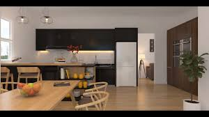 Kitchen Set Design by Tutorial Photoshop 3 Interior Kitchen Set Channel Id Youtube