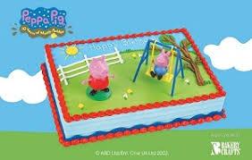 peppa pig cake pig cake kit