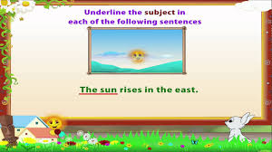 Worksheets On Subjects And Predicates Learn Grade 3 English Grammar Subject And Predicate Youtube