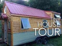 little foot tiny house tour youtube