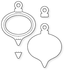papertrey ink shaker shapes ornament die papertrey ink clear