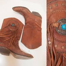 womens boots distressed leather best vintage zodiac boots products on wanelo