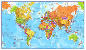 Large Printable World Map With Country Names by Large World Map With Countries Inside Maps Roundtripticket Me