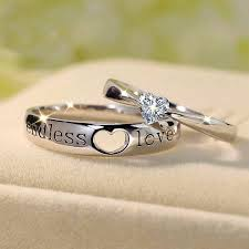 925 sterling silver v shaped heart promise ring size 5 6 7 8 9 10 endless heart cut gemstone 925 sterling silver promise ring