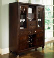 china cabinet nice small hutch for wine glasses part corner