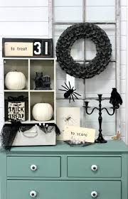 Entry Table Decor by Halloween Entry Table Decor Delightfully Noted