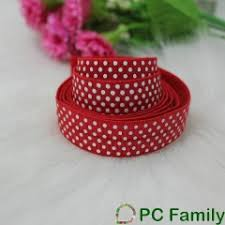 elastic ribbon wholesale hot sale wholesale 5 8 fold elastic foil printed foe