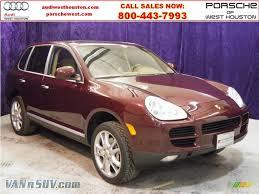 2004 Porsche Cayenne S - 2004 porsche cayenne s in carmona red metallic a65725 vannsuv