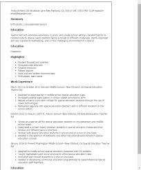 resume exles special education aide duties special education teacher aide resume template best design tips