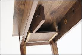 Concealed Cabinet Locks Bedroom Nightstand Secret Shelf Safe Dresser With Hidden Drawer