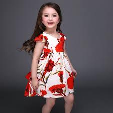 aliexpress com buy dress with flower print 2017 short