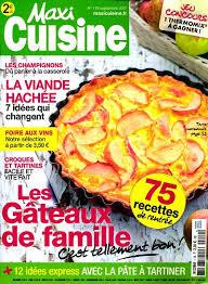maxi cuisine magazine achat magazine maxi cuisine n 119 en numérique