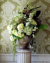 Arrangments by Hydrangea Wedding Flower Arrangements Martha Stewart Weddings