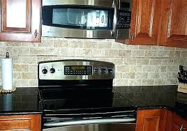faux brick backsplash in kitchen brick backsplash kitchen gray brick gray brick gray brick white