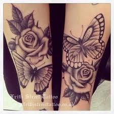 collection of 25 butterfly tattoos