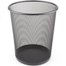 corbeille bureau grille poubelle corbeille papier fil métallique déchets panier pour