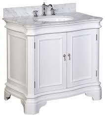White 36 Bathroom Vanity Enchanting Katherine Single Bathroom Simple 36 Vanity Bathrooms In