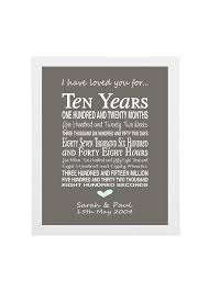 10th anniversary gift ideas for him 10th wedding anniversary gifts for husband india imbusy for