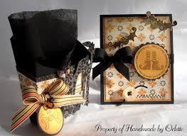 halloween invitations handmade by odette llc