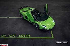 Lamborghini Aventador Sv Top Speed - wow look at this lamborghini aventador sv roadster on vossen