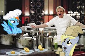 Hells Kitchen Meme - ponies in hell s kitchen by normanb88 gordon ramsay know your meme