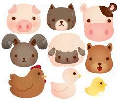 cute animated farm animals