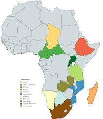 Zambia Africa Map by Matt Cowell Safari Destinations Matt Cowell U0027s Private Safaris