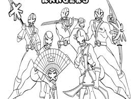 free printable power rangers coloring pages kids power