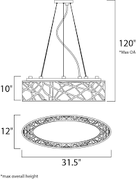 Et2 Inca 9 Light Pendant Lighting E21310 10bz Inca 9 Light Linear Pendant In Bronze With