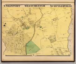 Westchester County Map Unionport Westchester Schuylerville David Rumsey Historical