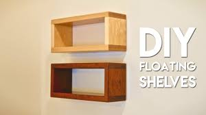 Diy Floating Bookshelves How To Build Diy Floating Shelf With Invisible Hardware Youtube