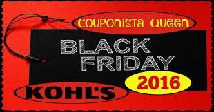 kohl s black friday ad 2016 couponista saving