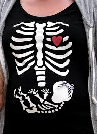 Pregnancy Halloween Costumes Skeleton Keeping Cents October 2010